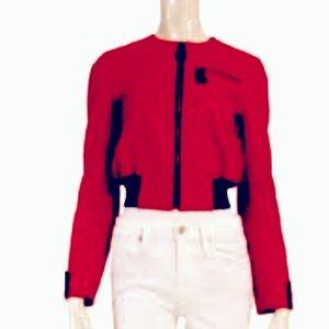 Authentic Louis Vuitton bomber jacket lambskin